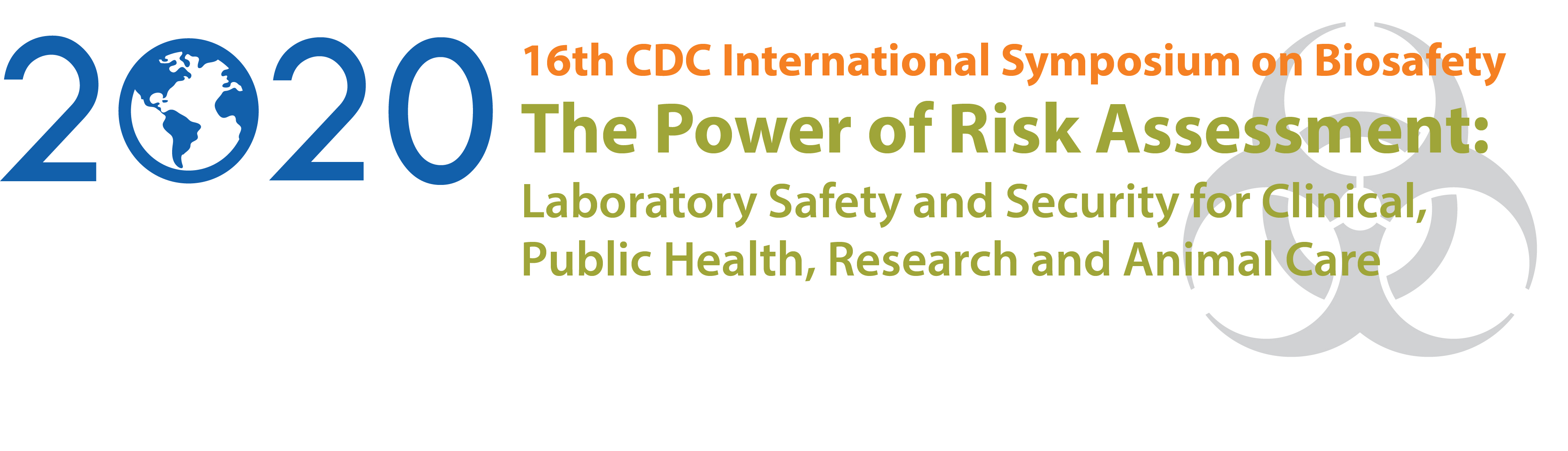 CDC International Biosafety Symposium - The Eagleson Institute